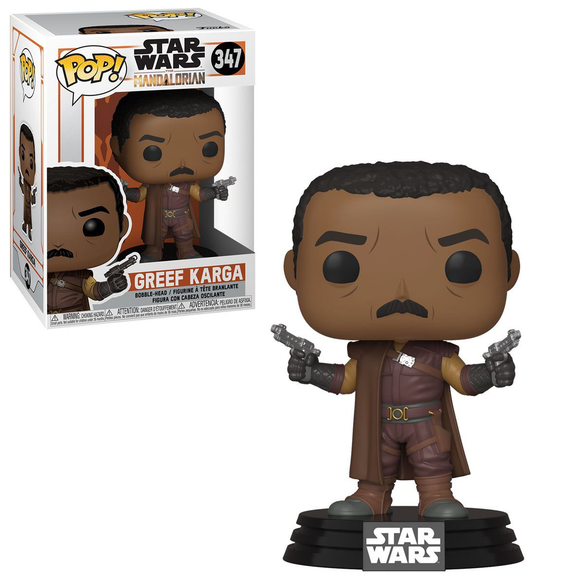 PRÉ VENDA: Funko Pop! Greef Karga: The Mandalorian (Star Wars) Disney+ #347 - Funko