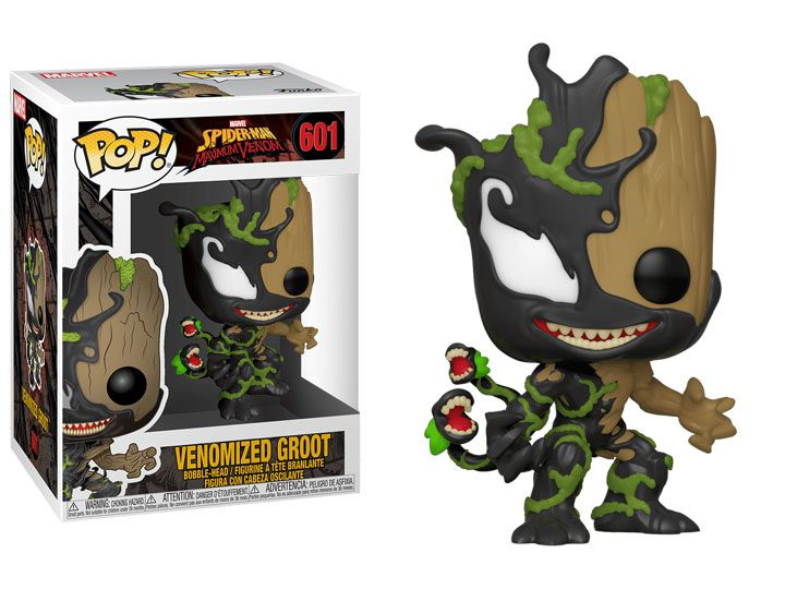 Funko Pop! Groot Venom (Venomized Groot): Marvel #601 - Funko