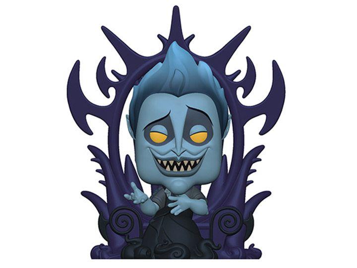 PRÉ VENDA: Funko Pop! Hades (on Throne): Hercules (Deluxe Villains) Disney - Funko