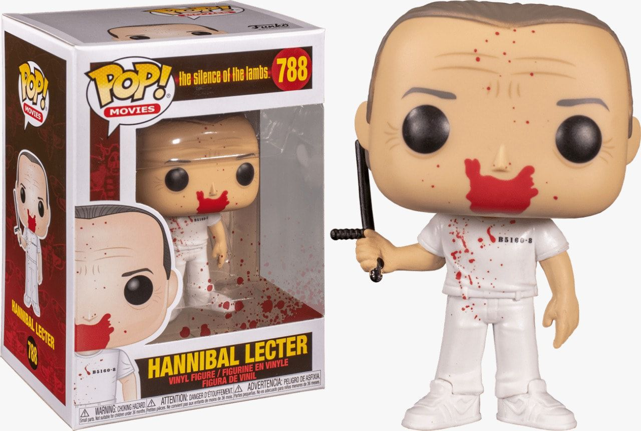 Funko Pop! Hannibal (Bloody Version): O Silêncio dos Inocentes (Silence Of The Lambs) #788 - Funko