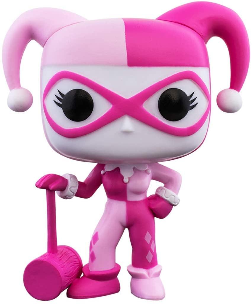 Funko Pop! Harley Quinn: DC Heroes (Conscientização do Câncer de Mama) #352 - Funko
