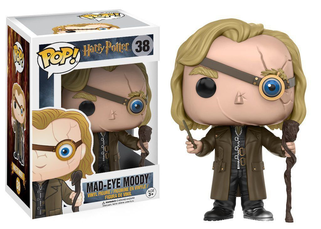 Funko Pop Mad-Eye Moody: Harry Potter #38 - Funko