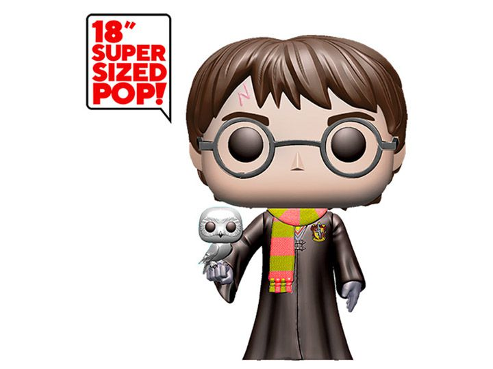 "PRÉ VENDA: Funko Pop! Harry Potter (Super Sized 18""): Harry Potter (Exclusivo) - Funko"
