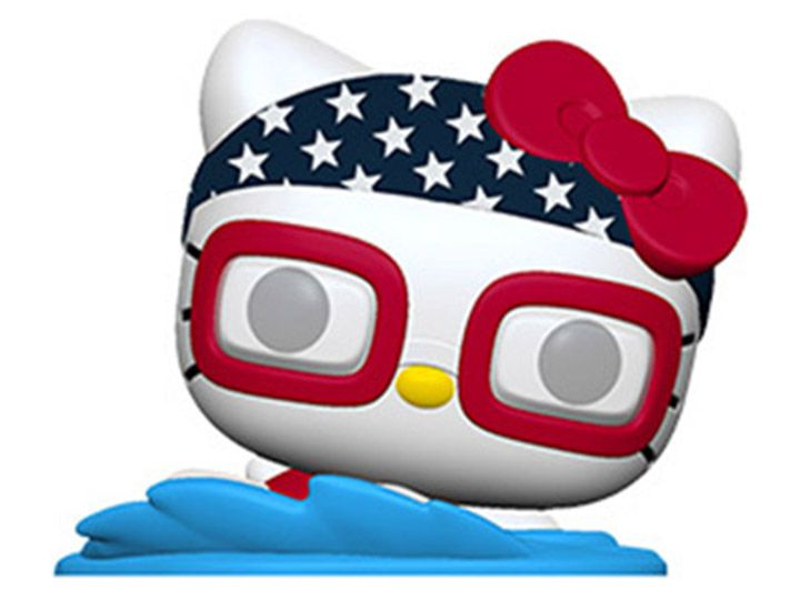 PRÉ VENDA: Funko Pop! Hello Kitty Natação (Swimming): Hello Kitty Sports - Funko