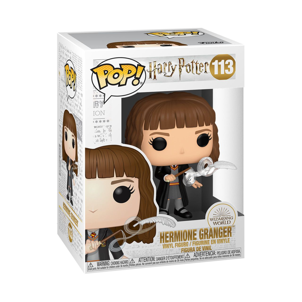 PRÉ VENDA: Funko Pop! Hermione com a pena (Hermione with Feather) #113: Harry Potter - Funko - EV