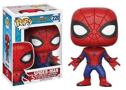 Funko Pop Homem-Aranha (Spider-Man): Homem-Aranha De Volta ao Lar (Spider-Man Homecoming) #220 - Funko