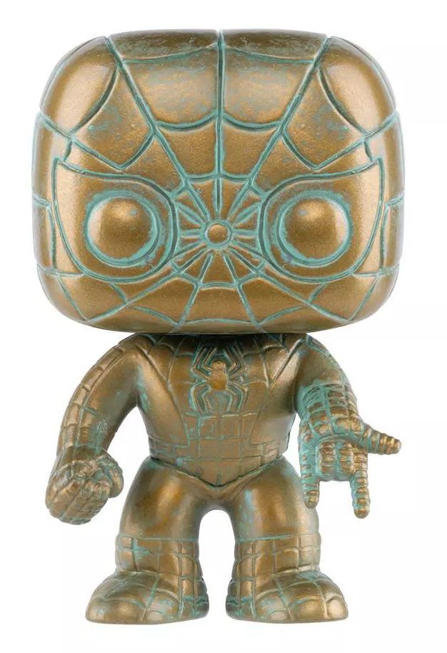 Funko PRÉ-VENDA Pop! Homem-Aranha (Spider Man Patina): Marvel 80th (Exclusivo) #495 - Funko