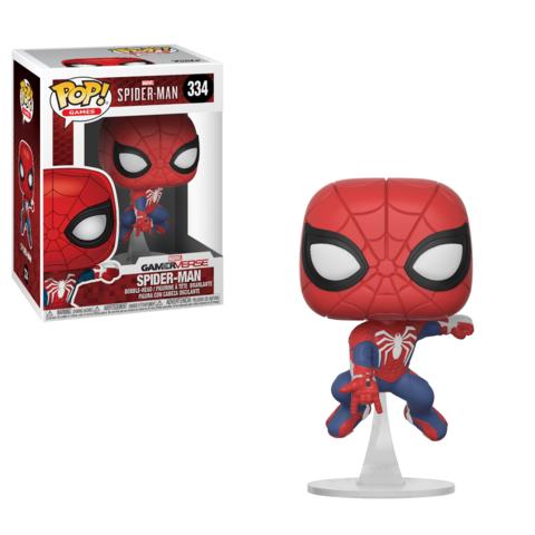 Funko Pop! Homem-Aranha (Spider-Man): Spider-Man (GamerVerse) #334 - Funko