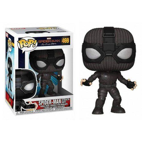 Funko Pop! Homem-Aranha (Spider-Man Stealth Suit): Homem-Aranha Longe de Casa (Far From Home) #469 - Funko