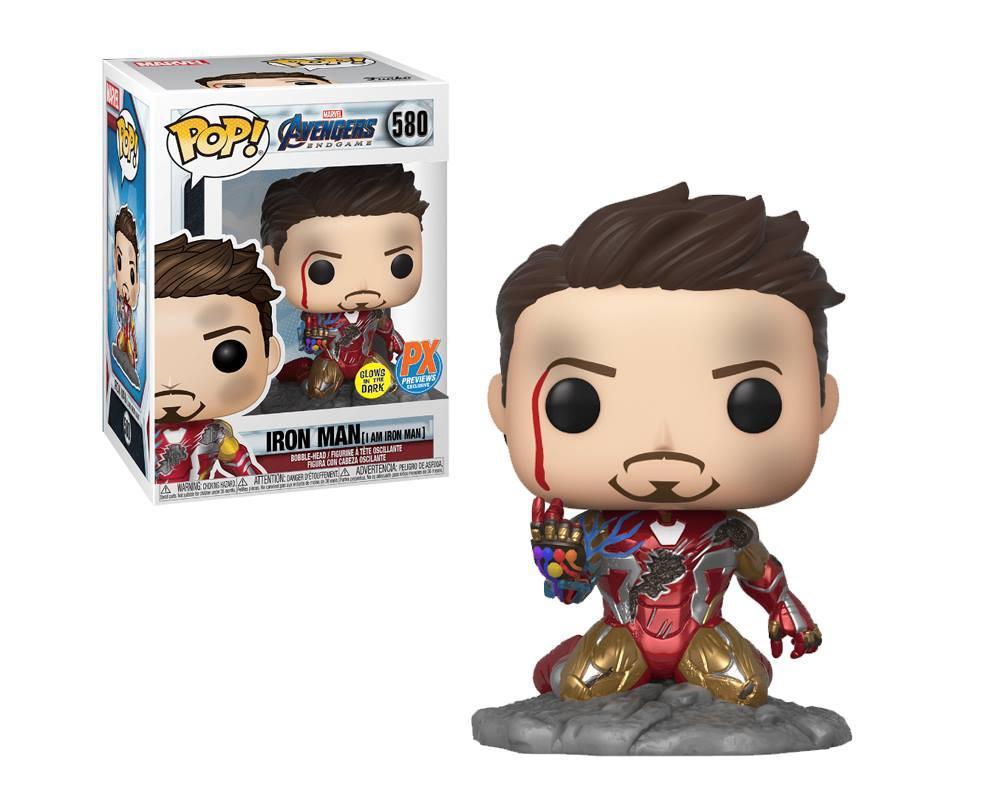 Pop! Homem de Ferro - Iron Man -