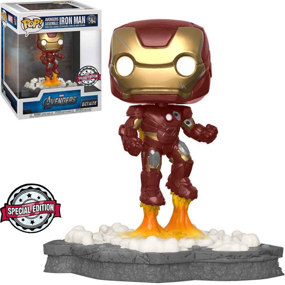 Funko Pop! Homem de Ferro (Iron Man): Marvel (Avengers Assemble Series) Exclusivo #584 - Funko