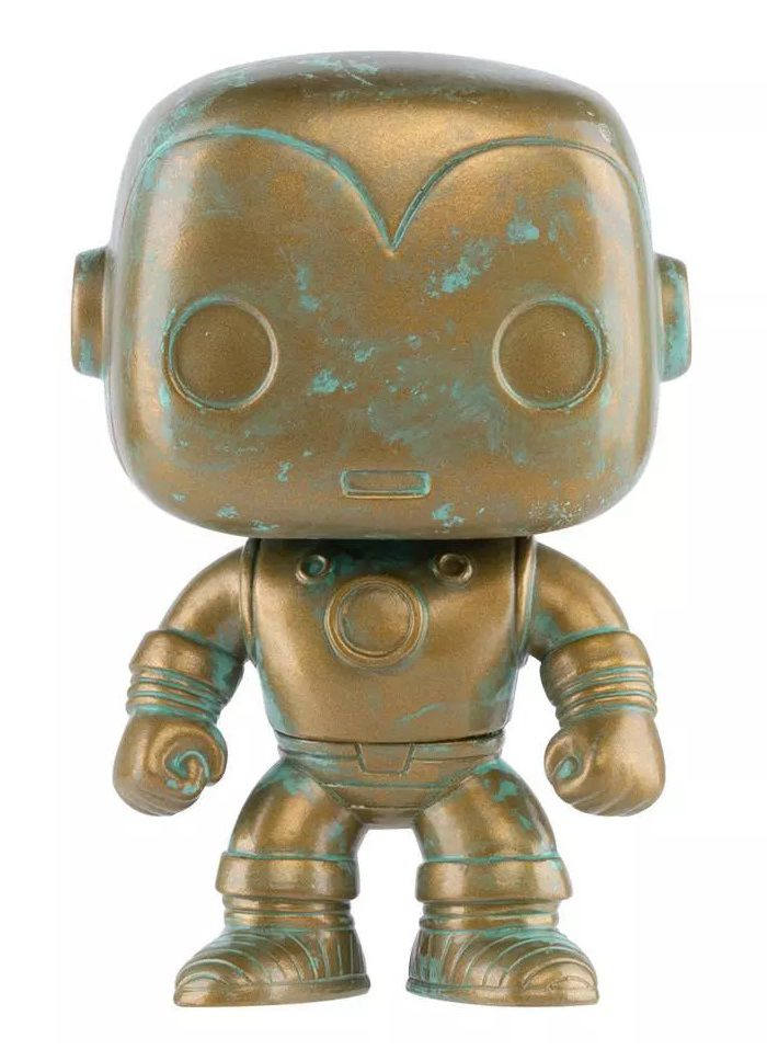 Funko PRÉ-VENDA Pop! Homem de Ferro (Iron Man Patina): Marvel 80th (Exclusivo) #498 - Funko