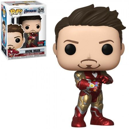 Pop! Homem de Ferro (Iron Man): Vingadores Ultimato (Avengers Endgame) Exclusivo NYCC #529 - Funko