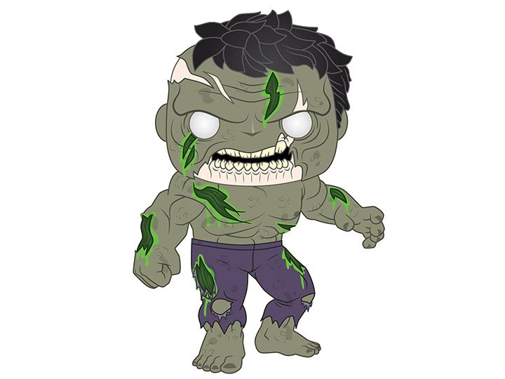PRÉ VENDA: Funko Pop! Hulk: Marvel Zombies (Marvel) - Funko