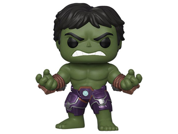 Funko Pop! Hulk (Stark Tech Suit): Marvel's Vingadores (Marvel's Avengers) Game (Marvel) #629 - Funko