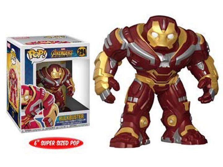Funko Pop! Hulkbuster: Vingadores Guerra Infinita Avengers Infinity War #294 - Funko