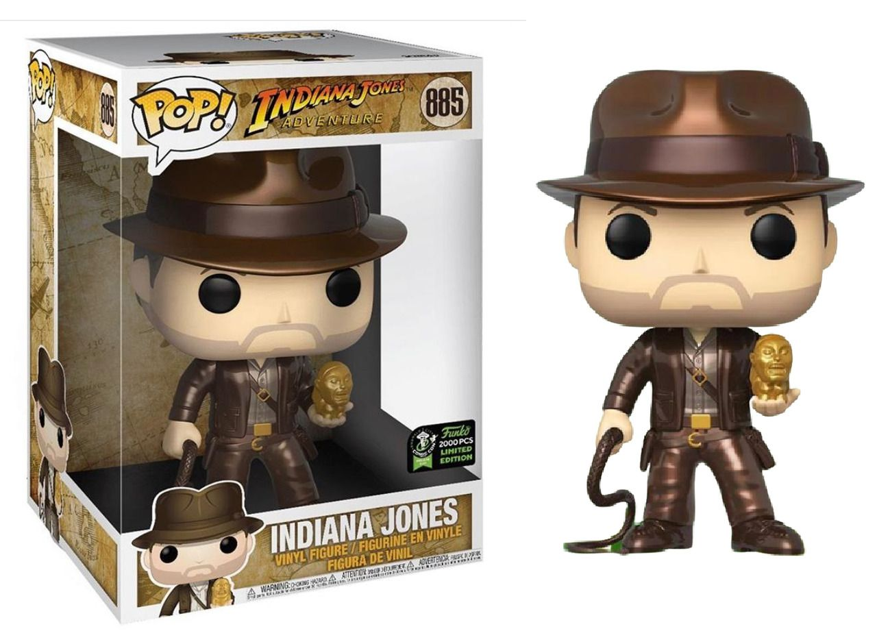 PRÉ VENDA: Funko Pop! Indiana Jones (Metallic) 10