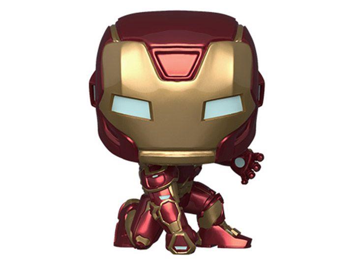 Funko Pop! Homem de Ferro (Iron Man) (Stark Tech Suit): Vingadores (Avengers) Game (Marvel) - Funko