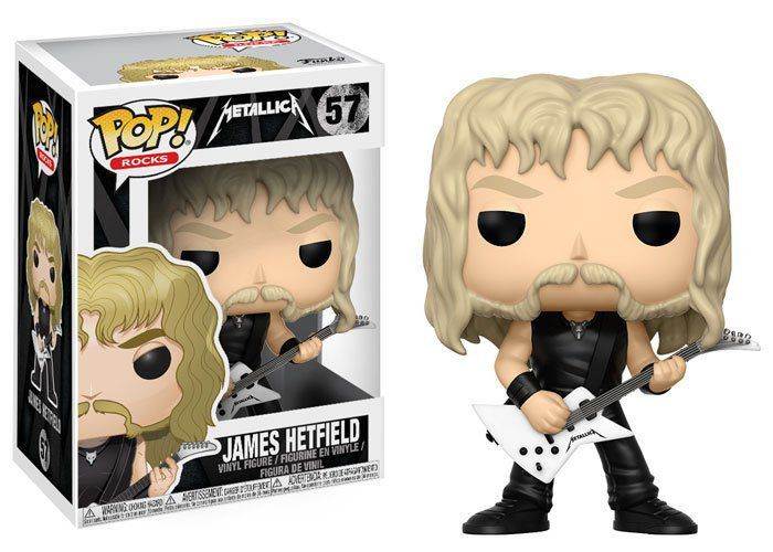 Funko Pop James Hetfield: Metallica #57 - Funko