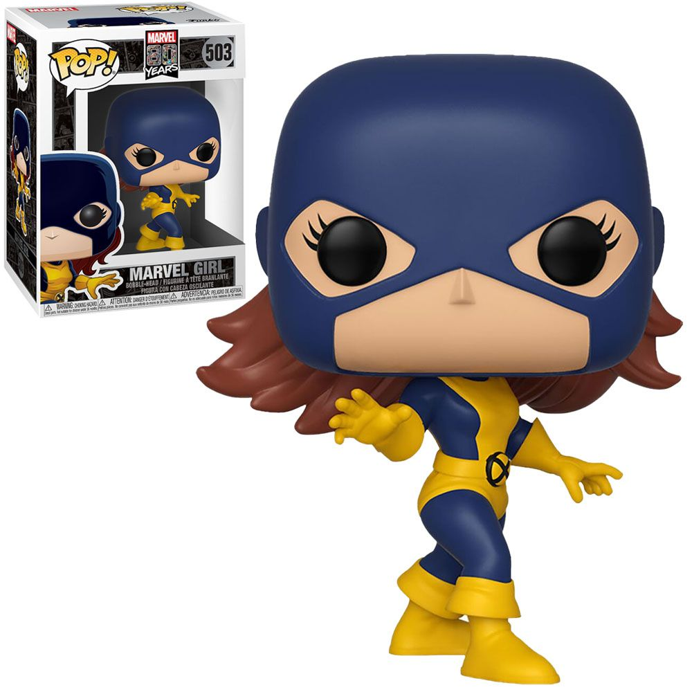 Funko Pop! Jean Grey (Marvel Girl First Appearance): X-Men (Marvel 80th Anniversary) #503 - Funko
