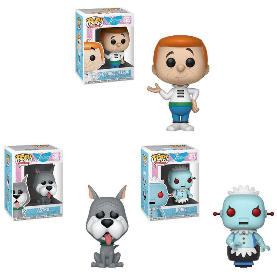 PRÉ VENDA: Funko Pop! Jetsons Set 3 Figure: Hanna-Barbera - Funko
