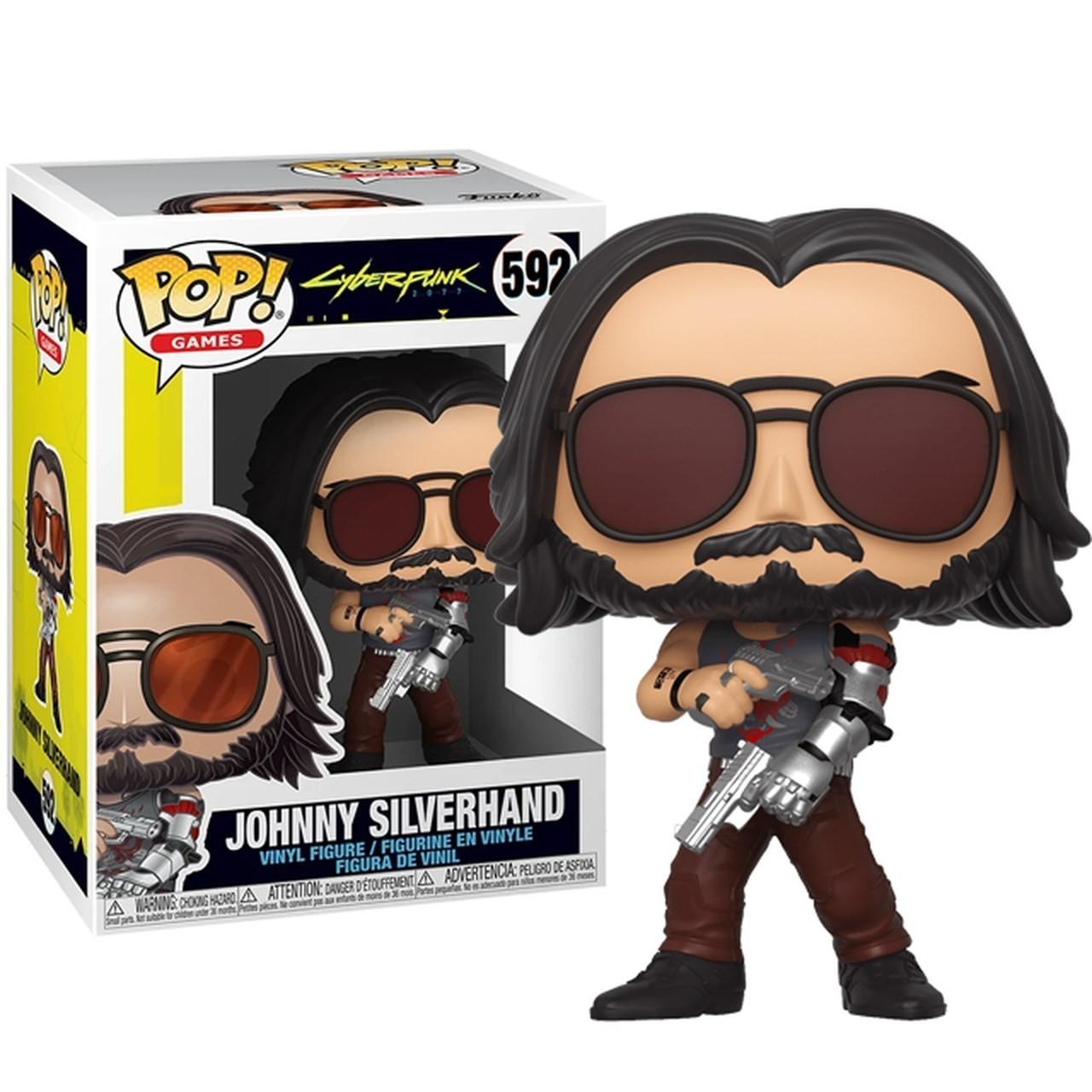 PRÉ VENDA: Funko Pop! Johnny Silverhand 2: Cyberpunk 2077 #592 - Funko