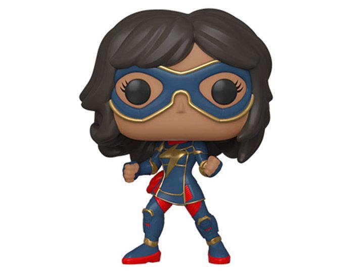 Funko Pop! Kamala Khan (Stark Tech Suit): Marvel's Vingadores (Marvel's Avengers) Game (Marvel) - Funko