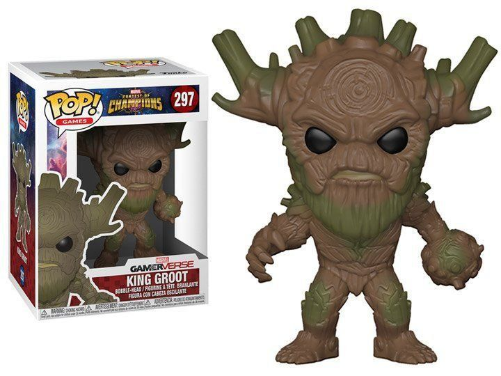 PRÉ VENDA: Funko Pop! King Groot: Marvel Contest of Champions #297 - Funko