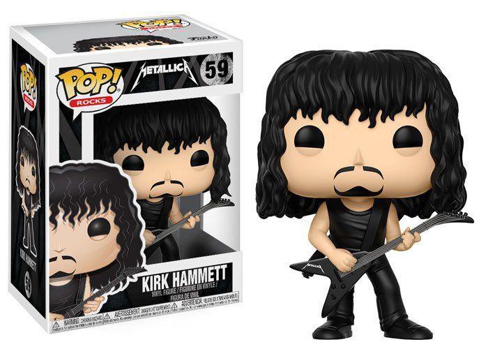 Funko Pop Kirk Hammett: Metallica #59 - Funko
