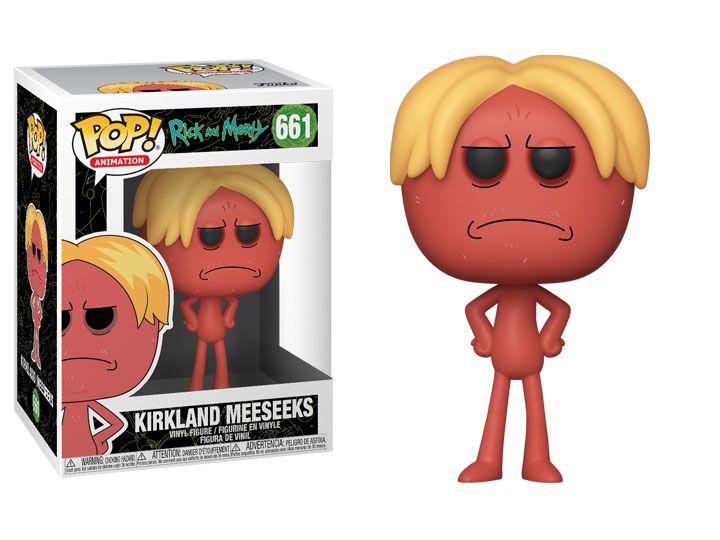 Funko Pop! Kirkland Meeseeks: Rick And Morty #661 - Funko
