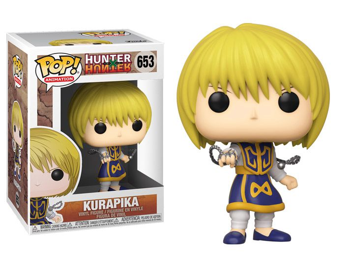 PRÉ VENDA: Funko Pop! Kurapika: Hunter x Hunter #653 - Funko - EV