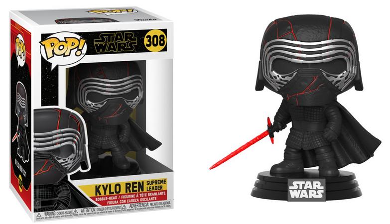 Funko Pop! Kylo Ren: Star Wars A Ascensão Skywalker (Star Wars The Rise of Skywalker) #308 - Funko