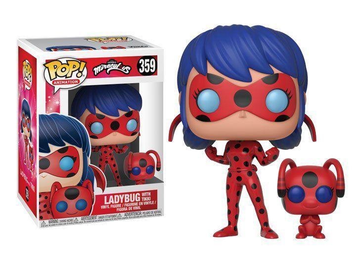 Funko Pop! Ladybug w/ Tikki: Miraculous #359 - Funko