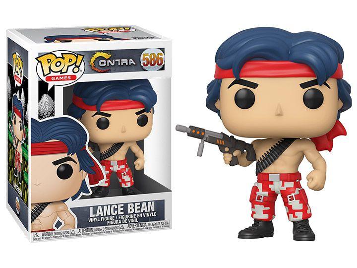 Funko Pop! Lance Bean: Contra (Games) #586 - Funko
