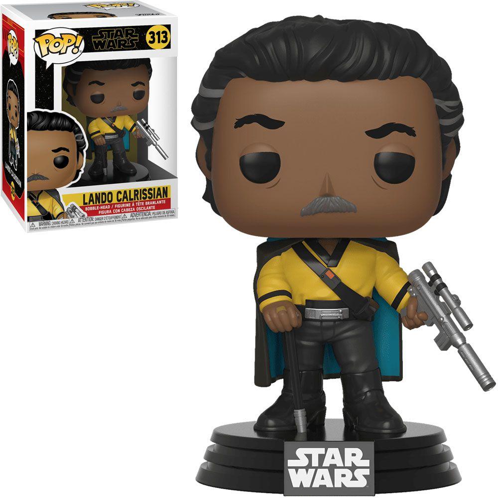 Funko Pop! Lando Calrissian: Star Wars A Ascensão Skywalker (Star Wars The Rise of Skywalker) #313 - Funko