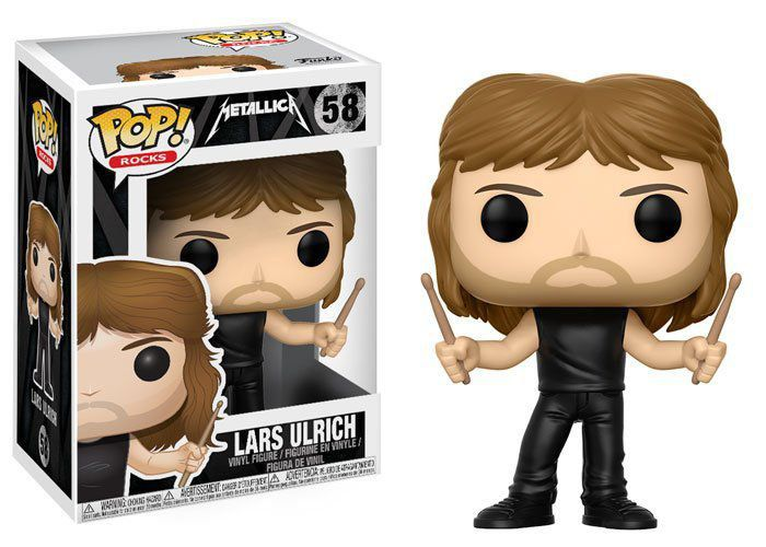 Funko Pop Lars Ulrich: Metallica #58 - Funko