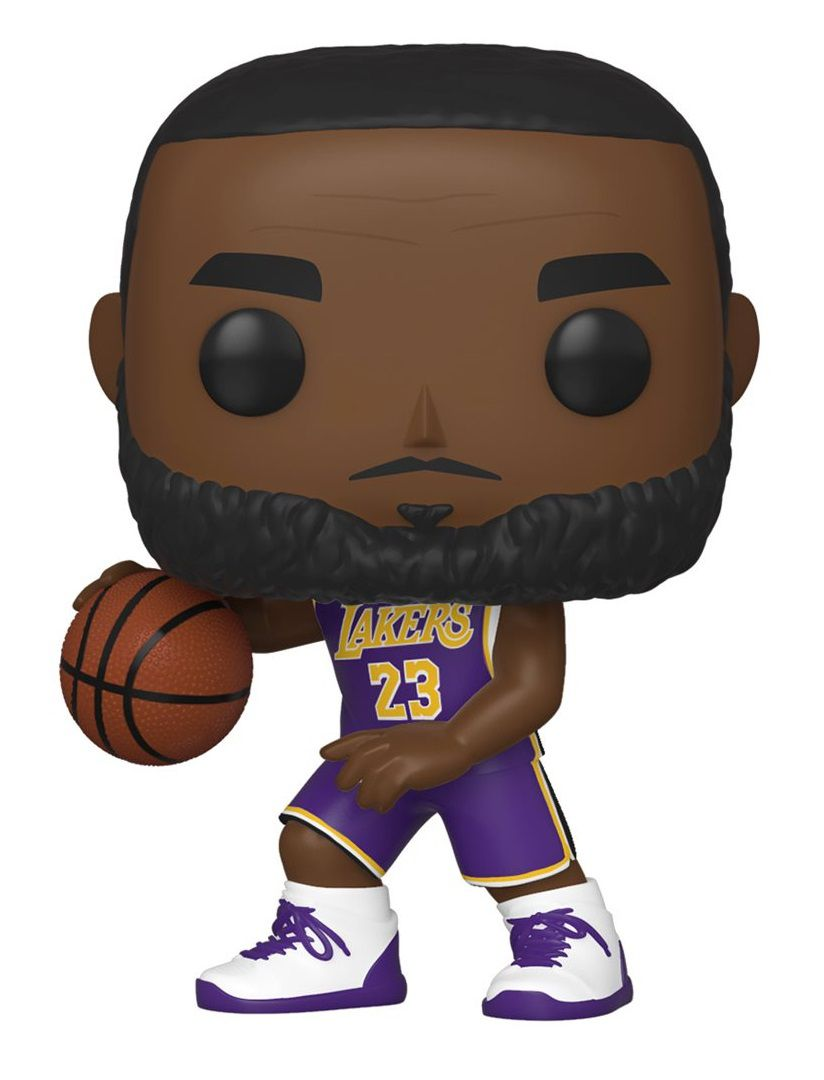 PRÉ VENDA Funko Pop! Lebron James: Los Angeles Lakers (NBA) #66 - Funko