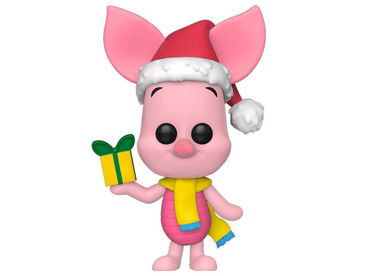 PRÉ VENDA: Funko Pop! Leitão (Piglet Holiday): Ursinho Pooh (Winnie the Pooh) Disney - Funko