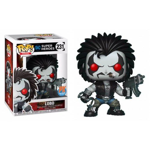 PRÉ VENDA: Pop Lobo: DC Heroes PX Previews Exclusive #231- Funko