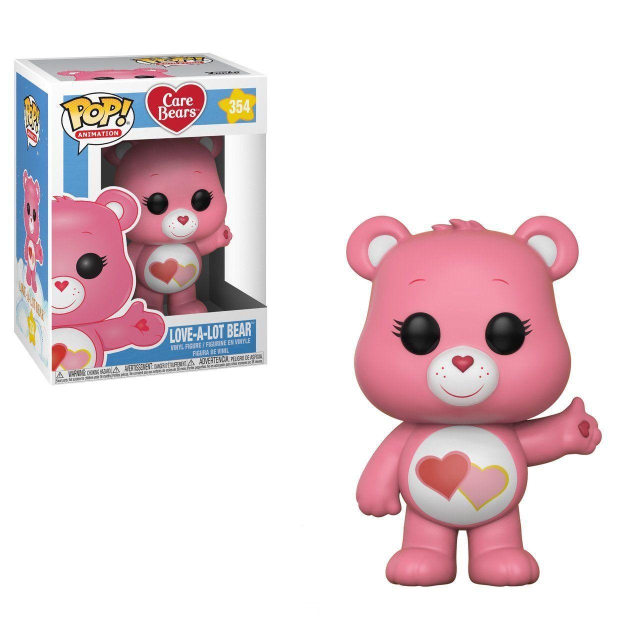 PRÉ VENDA: Funko Pop! Love-A-Lot Bear: Care Bears #354 - Funko