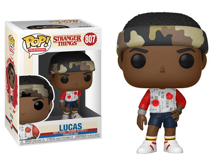 Funko Pop! Lucas (Season Three): Stranger Things #807 - Funko