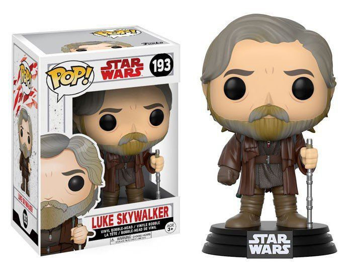 Funko Pop Luke Skywalker: Star Wars: Os Últimos Jedi (The Last Jedi) #193 - Funko