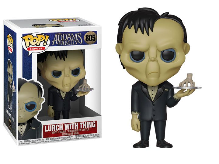 Funko Pop! Lurch With Thing: A Família Addams (The Addams Family Animated) #805 - Funko