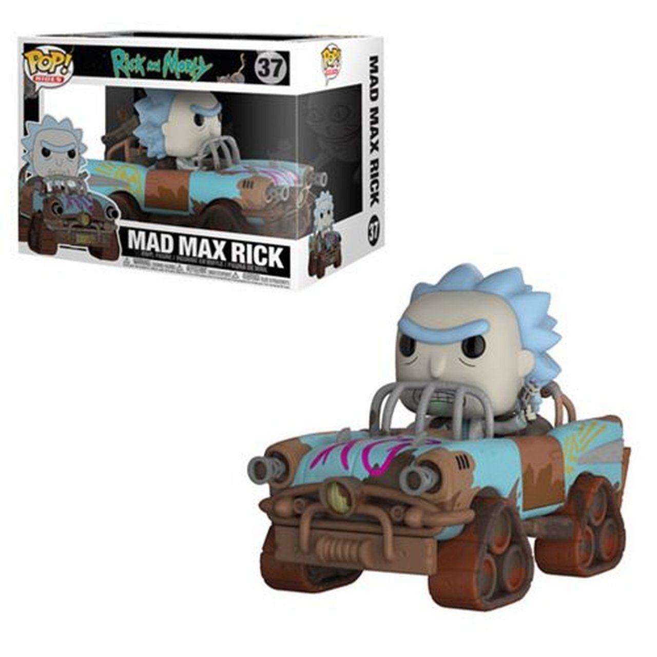 Funko Pop! Mad Max Rick: Rick and Morty #37 - Funko