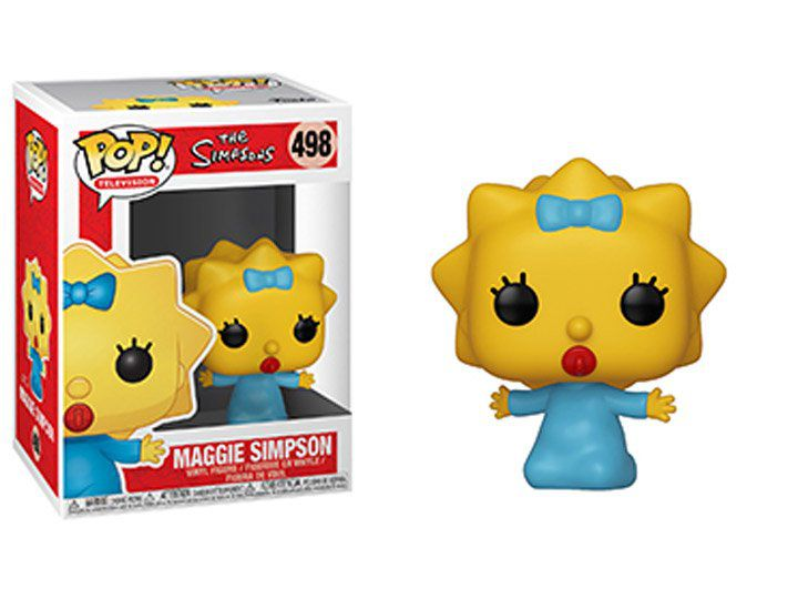 Funko Pop! Maggie Simpson: The Simpsons #498 - Funko (Apenas Venda Online)