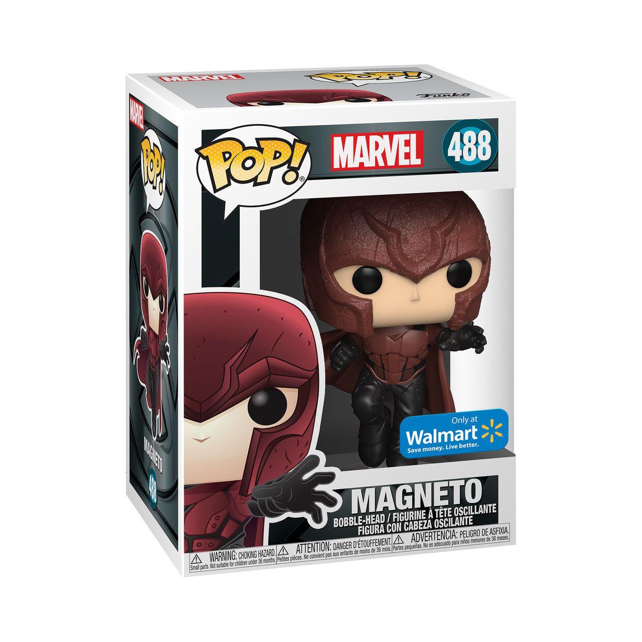 PRÉ VENDA: Funko Pop! Magneto Jovem Marvel: X-Men o Filme - Aniversário 20 anos - (X-Men 20th Anniversary) #488 - Exclusivo Wallmart - Funko