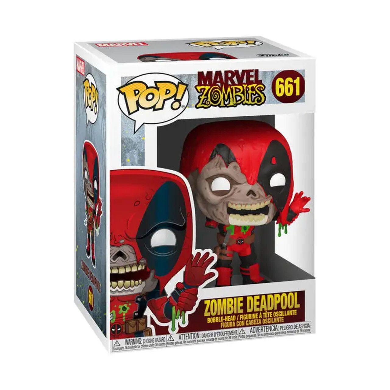 Funko Pop! Marvel Zombies: Deadpool #661- Funkoween - Funko