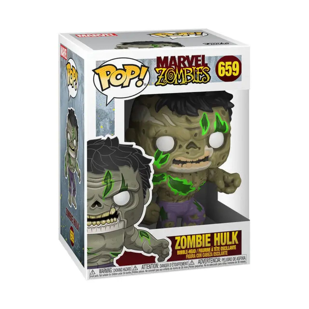 PRÉ VENDA: Funko Pop! Marvel Zombies: Hulk #659 - Funkoween - Funko