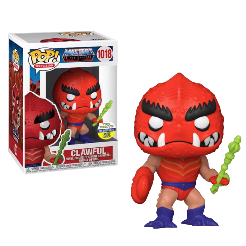 PRÉ VENDA: Funko Pop! Masters Of The Universe Clawful: Mestre do Universo (Edição Limitada) - Funko (Exclusivo SDCC 2020)