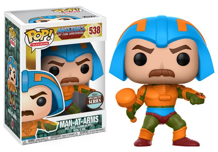 Pop Mentor (Man-At-Arms): Mestres do Universo (Masters Of The Universe) Exclusivo #538 - Funko